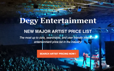 NEW Major Artist Interactive Price Search is LIVE