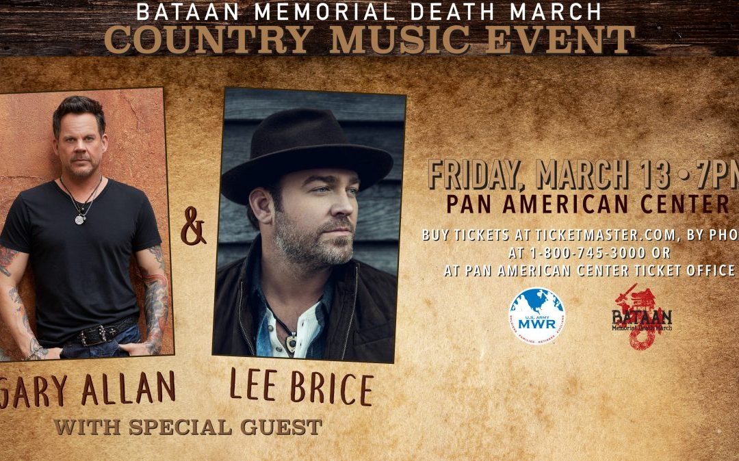 Gary Allan & Lee Brice @ Bataan Memorial Death March